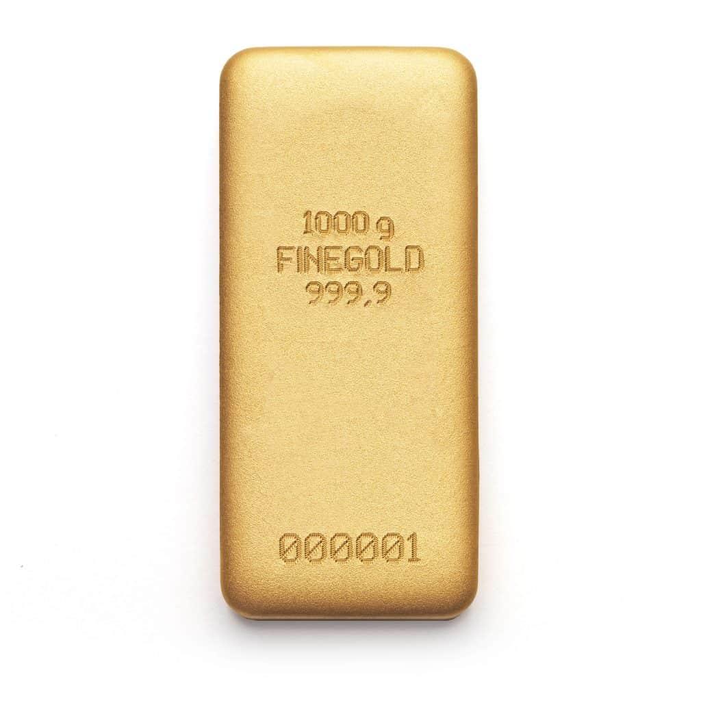 Zlatna poluga 1000gr