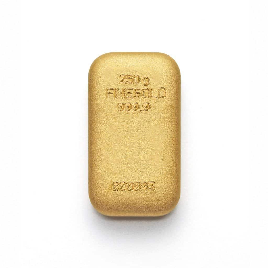 Zlatna poluga 250gr