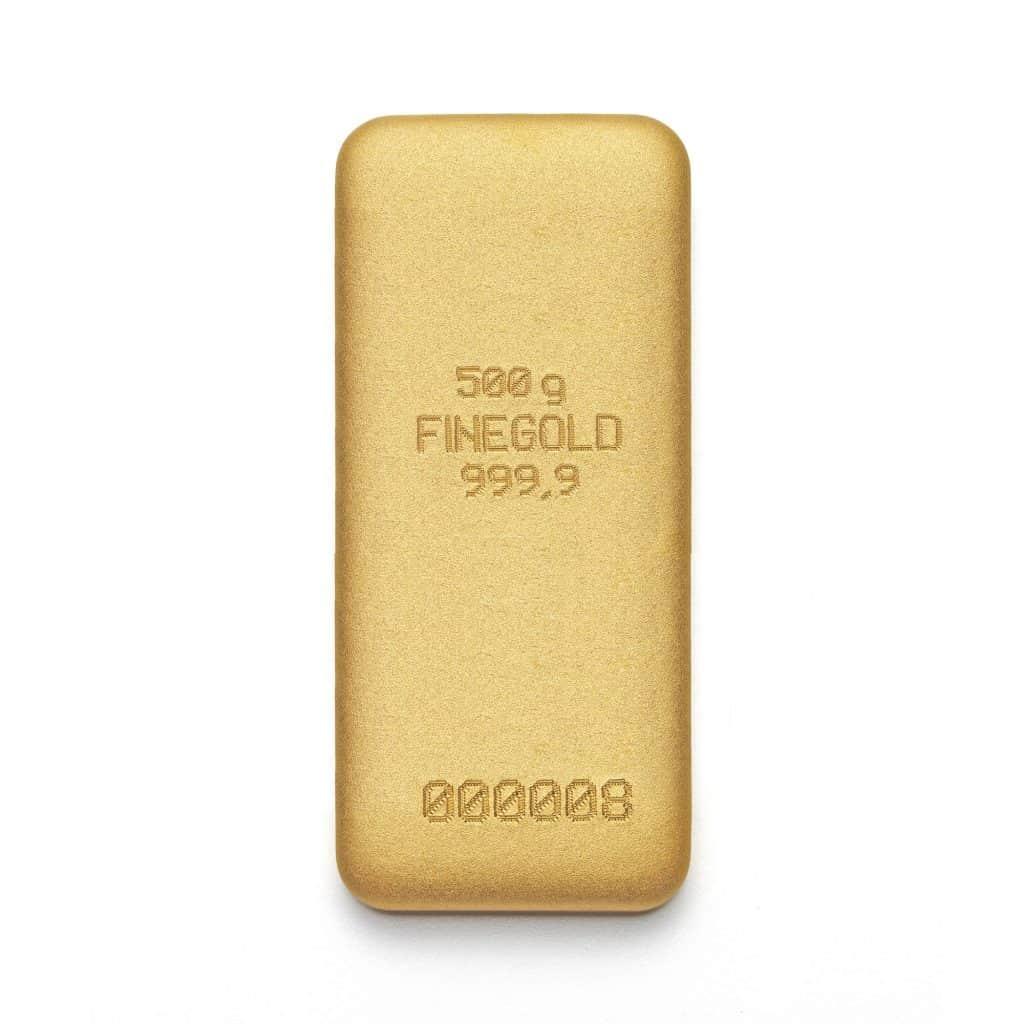 Zlatna poluga 500gr