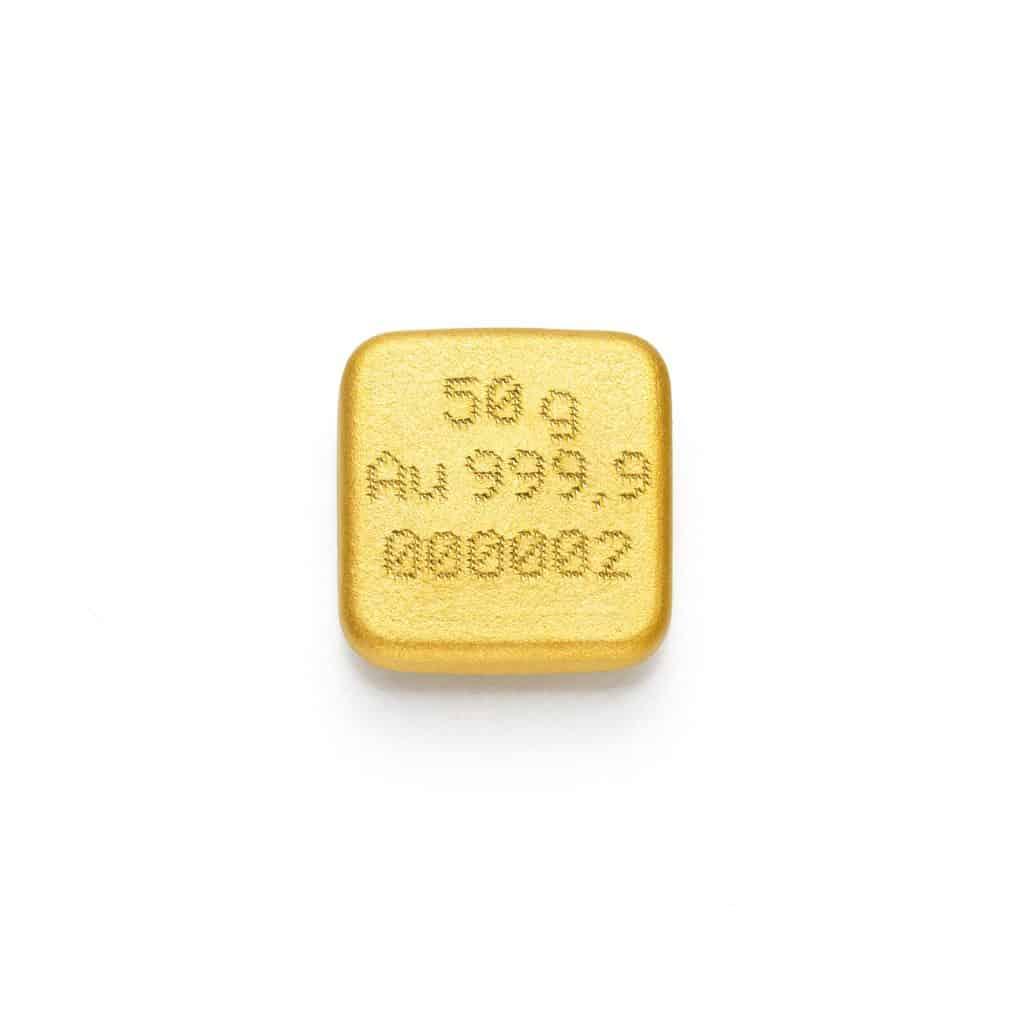 Zlatna pločica 50gr