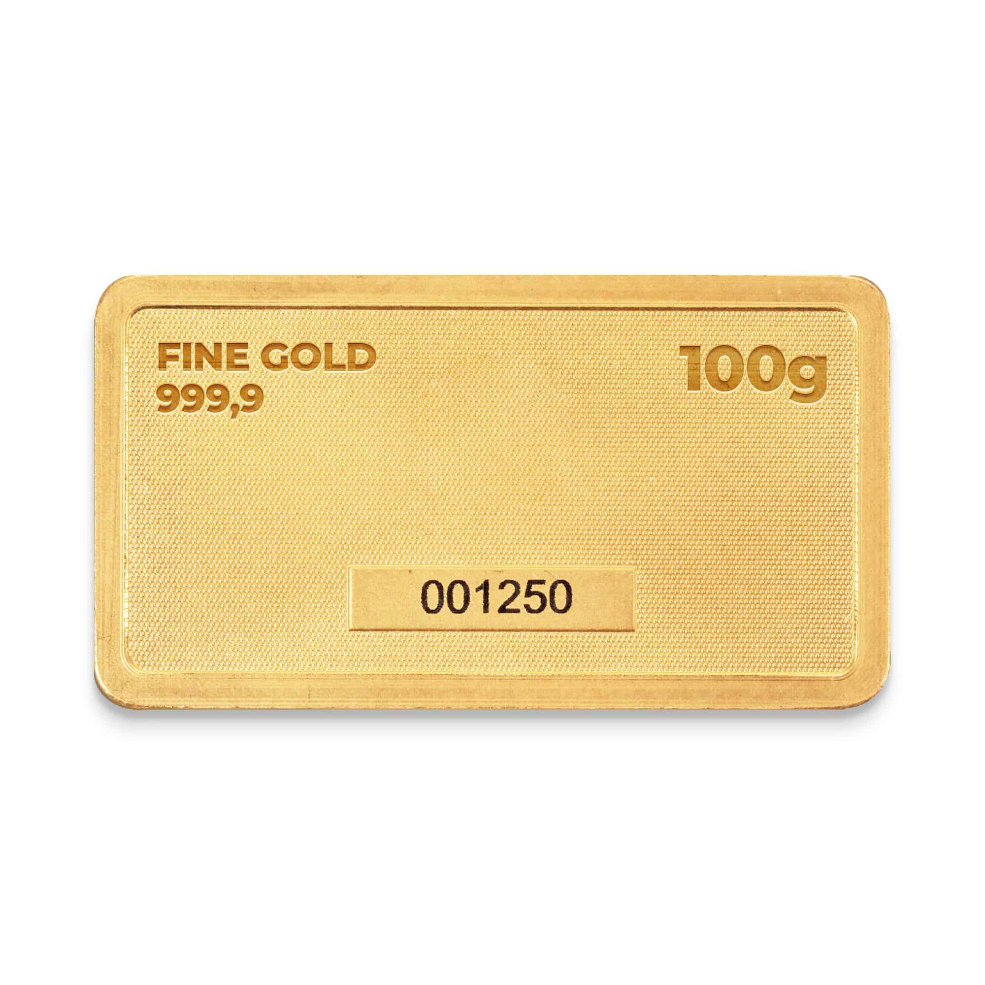 Zlatna plocica 100 grama