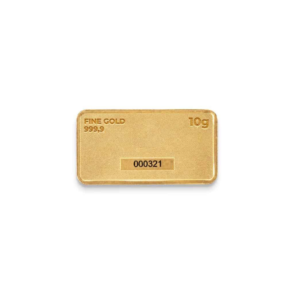 Zlatna plocica 10 grama