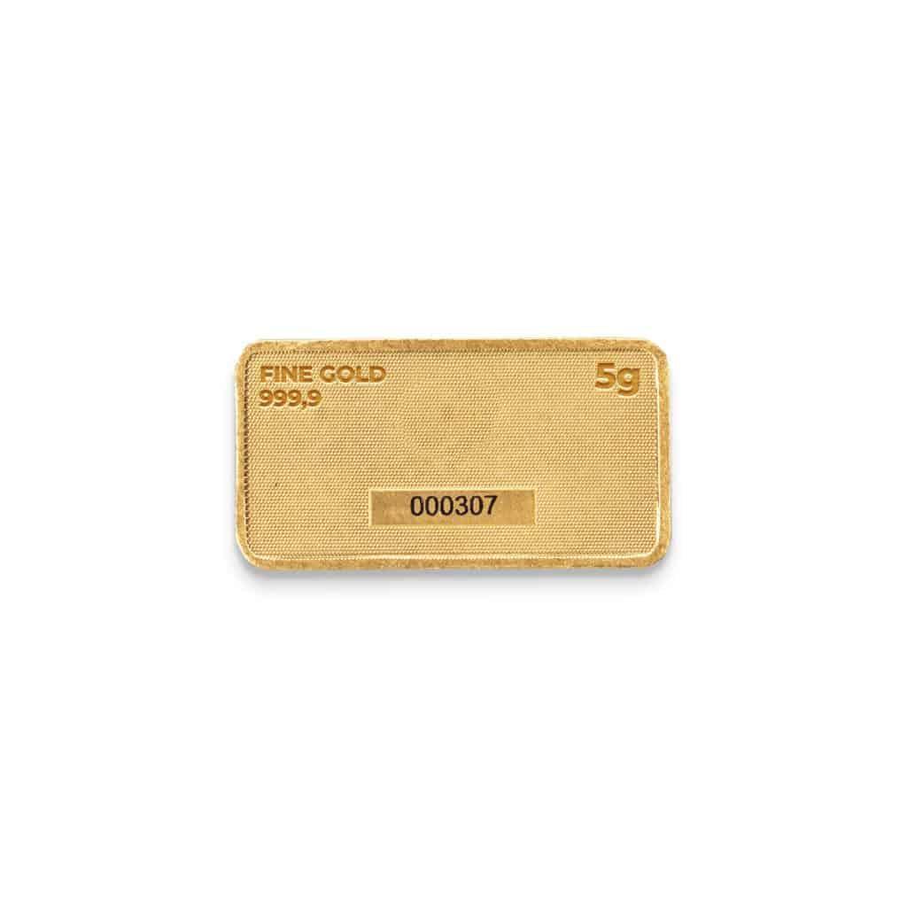 Zlatna plocica 5 grama